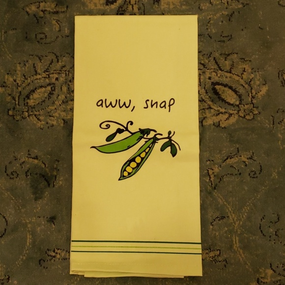 Snap Kitchen Hours: Aww Snap Towel New Without Tags